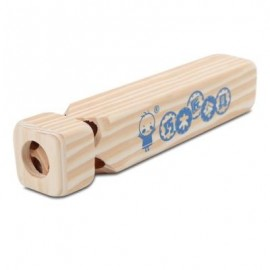 image of QIAOMUJIANG WOODEN TRAIN WHISTLE DEVELOPMENTAL TOY GIFT (WOOD) -