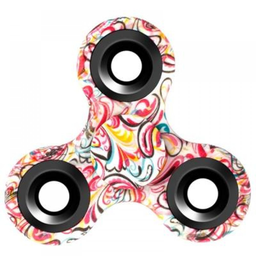Patterned Fidget Spinner Interesting Design Ideas