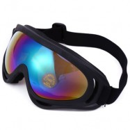 image of ROBESBON NON-POLARIZED SPORTS RUNNING OUTDOOR CYCLING MOTOCROSS GOGGLES UV400 PROTECTION SUNGLASSES (COLORFUL) -