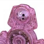 FINGER GYRO PLASTIC FIDGET TOY EDC HAND SPINNER (PINK) -