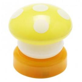 image of KIDS NOVELTY MUSHROOM SHAPE LED LAMP COLORFUL NIGHT LIGHT FLASHING TOY (COLORMIX) -