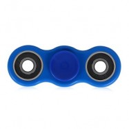 image of HAND SPINNER STRESS RELIEVER PRESSURE REDUCING TOY  (BLUE) -