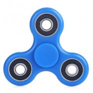image of ABS PLASTIC ADHD FIDGET SPINNER STRESS RELIEVER TOY RELAXATION GIFT (BLUE) -