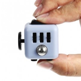 image of CUTE MAGIC FIDGET CUBE STYLE STRESS RELIEVER PRESSURE REDUCING TOY FOR OFFICE WORKER (COLORMIX) -