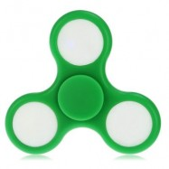 image of COLORFUL LED GYRO STRESS RELIEVER PRESSURE REDUCING TOY FOR OFFICE WORKER (GREEN) -