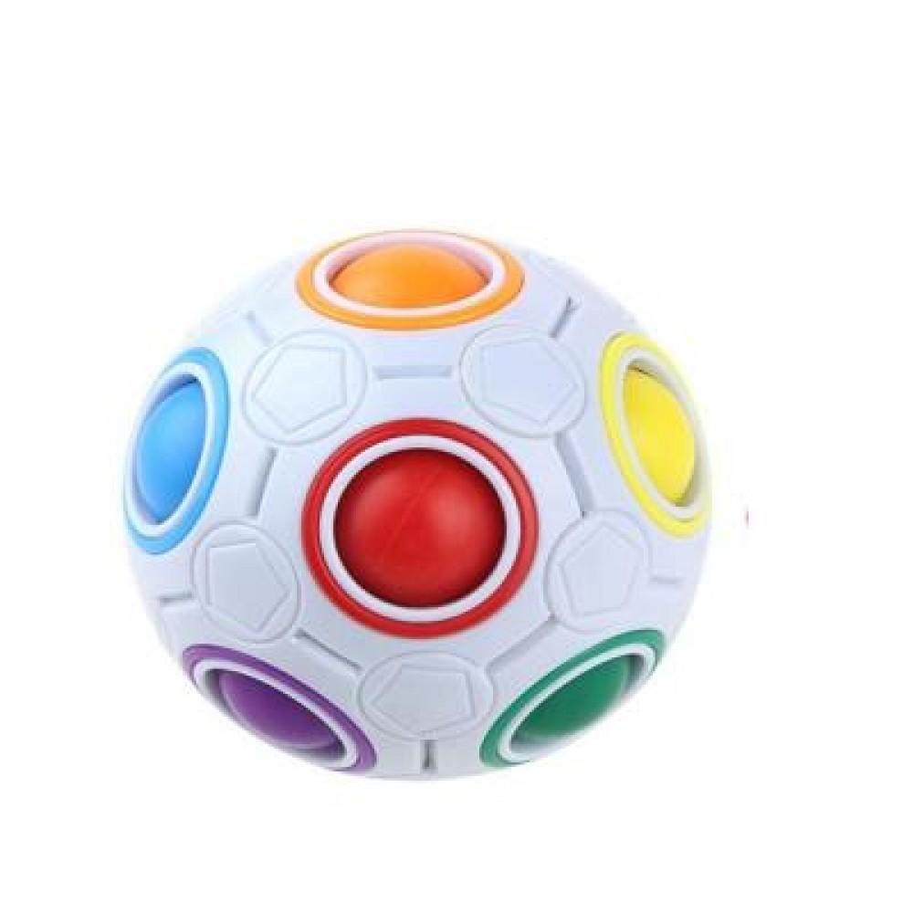 MAGIC RAINBOW BALL (COLORMIX) 7.5 X 7.5 X 7.5CM