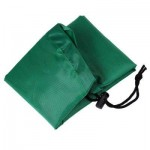 PORTABLE BABY PLAY MAT TOY FAST CLEANUP STORAGE BAG OUTDOOR FLOOR BLANKET 45CM (GREEN) -
