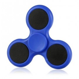 image of TRI-BLADE ABS EDC FIDGET SPINNER FOCUS TOY ADHD ANXIETY STRESS RELIEF (BLUE) -