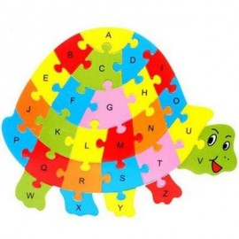 image of TORTOISE SHAPED PUZZLE (COLORMIX) 0