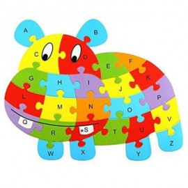 image of HIPPO SHAPED PUZZLE (COLORMIX) 0