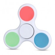 image of LUMINOUS ADHD FIDGET SPINNER STRESS RELIEVER RELAXATION GIFT (WHITE) -