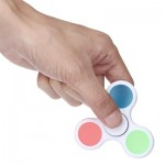 LUMINOUS ADHD FIDGET SPINNER STRESS RELIEVER RELAXATION GIFT (WHITE) -
