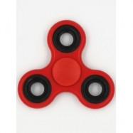 image of FIDDLE TOYS ROTATING TRIANGLE FIDGET SPINNER (DEEP RED) -