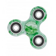 image of STAR SKY PRINT FOCUS TOY STRESS RELIEF FIDGET SPINNER (GREEN) -