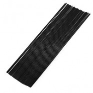 image of 1.75MM STRAIGHT PLA FILAMENT PRINTING SUPPLIES FOR 3D PRINTER PEN (BLACK) PLA