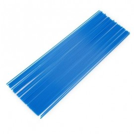 image of 1.75MM STRAIGHT PLA FILAMENT PRINTING SUPPLIES FOR 3D PRINTER PEN (BLUE) PLA