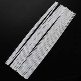image of 1.75MM STRAIGHT PLA FILAMENT PRINTING SUPPLIES FOR 3D PRINTER PEN (WHITE) PLA