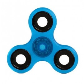 image of LUMINOUS HAND SPINNER PRESSURE REDUCING TOY (BLUE) -