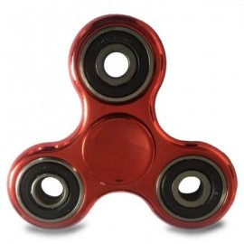 image of PLASTIC FINGER GYRO STRESS RELIEF TOY EDC FIDGET SPINNER (RED) -