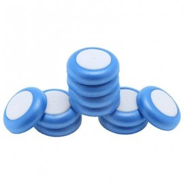 image of 10PCS SOFT DISC BULLET REFILL BLASTER TOY GUN DART (ROYAL BLUE) -