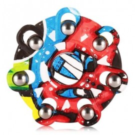 image of CREATIVE GRAFFITI ROUND FINGER SPINNER -