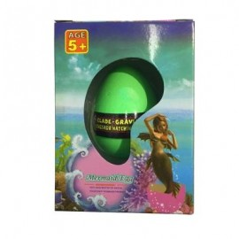 image of MERMAID WATER GROWING HATCHING COLORFUL EGG (GREEN) 0