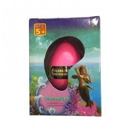 image of MERMAID WATER GROWING HATCHING COLORFUL EGG (RED) 0