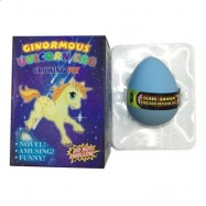 image of UNICORN WATER GROWING HATCHING COLORFUL EGG (BLUE) 0