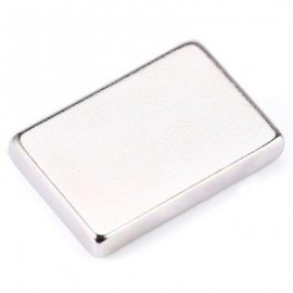 image of 1PCS NDFEB STRONG DISC MAGNETIC BLOCK PUZZLE EDUCATIONAL TOY FOR INTELLIGENCE DEVELOPMENT (SILVER) -