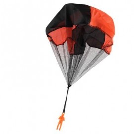 image of CHILDREN THROWING SOLDIER PARACHUTE CHAMBER OUTDOOR SPORT CLASSIC TOY (ORANGE) 0