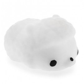 image of MINI CARTOON SHEEP TPR ANIMAL SQUISHY TOY FUNNY STRESS RELIEVER DECORATION GIFT (WHITE) -