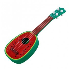 image of ESPECIALLY IN THE KERRY MINI FRUIT GUITAR BEGINNERS GUITAR SOUND INSTRUMENT TOYS (RED) 0