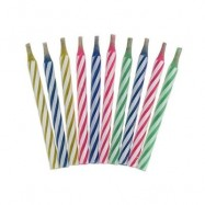 image of MAGIC RELIGHTING CANDLE PRANK TOY TRICK PROP PARTY ORNAMENTS 10PCS / SET (COLORMIX) -