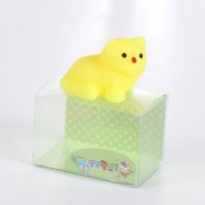 image of MINI CARTOON BEAR TPR ANIMAL SQUISHY TOY STRESS RELIEF PRODUCT DECORATION GIFT (YELLOW) -