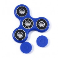 image of HAND SPINNER EDC FINGER TOY FOR ADHD AUTISM LEARNING (BLUE) -