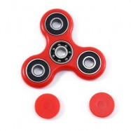 image of HAND SPINNER EDC FINGER TOY FOR ADHD AUTISM LEARNING (RED) -