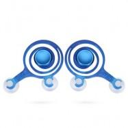 image of 2PCS SUCKER GAME METAL JOYSTICK ROCKER JOYPAD CONTROLLER (BLUE) -