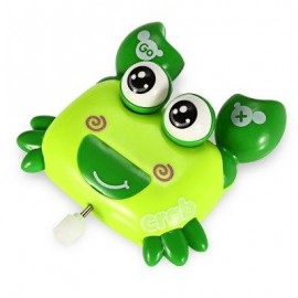 image of BABY COLORFUL FUNNY ANIMAL CLOCKWORK RUNNING SPRING TOY (COLORMIX) -