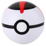 image of INTERESTING MULTICOLOR PRESSURE PROOF STRONG BALL TOY FOR KIDS (RED WITH BLACK) -