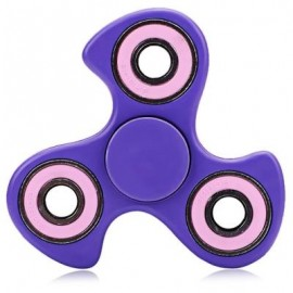 image of 608 ABS FIDGET SPINNER STRESS RELIEF PRODUCT ADULT FIDGETING TOY (PURPLE) -