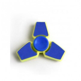 image of THREE LEAF FINGER GYRO STRESS RELIEF TOY FIDGET HAND SPINNER -