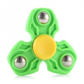 image of ABS DURABLE GYRO STRESS RELIEVER PRESSURE REDUCING TOY FOR OFFICE WORKER (GREEN) -