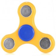 image of GYRO STRESS RELIEVER PRESSURE REDUCING TOY FOR OFFICE WORKER (YELLOW) -