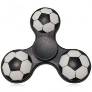 image of FIDDLE TOY SOCCER PATTERN FINGER GYRO FIDGET SPINNER -