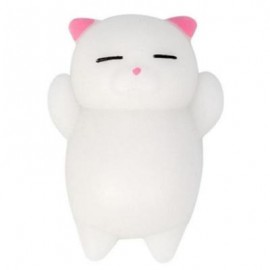 image of CUTE CAT STYLE SQUISHY TOY FOR PRESSURE REDUCING (PINK) 0