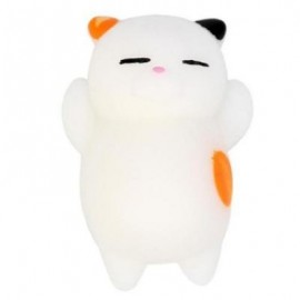 image of CUTE CAT STYLE SQUISHY TOY FOR PRESSURE REDUCING (ORANGE) 0