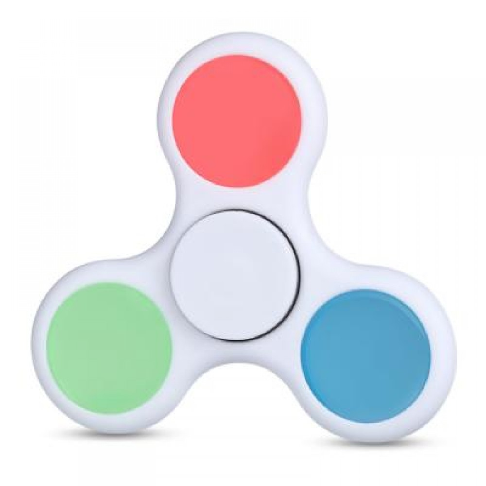 LUMINOUS ADHD FIDGET SPINNER STRESS RELIEVER RELAXATION GIFT -