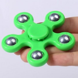 image of FLOWER SHAPE STRESS RELIEF TOY HAND SPINNER FINGER GYRO -