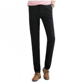 image of BAIYUAN TROUSERS AUTUMN CASUAL SLIM FIT MENS LONG PANTS BLACK (BLACK 2R2610#) 34