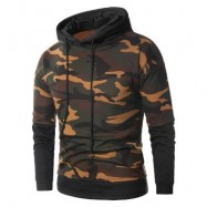 image of FAUX TWINSET CAMOUFLAGE FLEECE PULLOVER HOODIE (ACU CAMOUFLAGE) 4XL